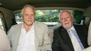 Sir David and Lord Richard Attenborough in a car in 2006