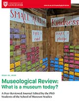 Museological Review Cover page
