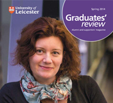 Front cover graduates review 2014