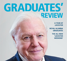 Front cover of the Graduates' Review page