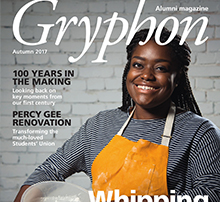 Front cover of Gryphon magazine
