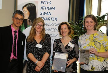 athena swan award ceremony
