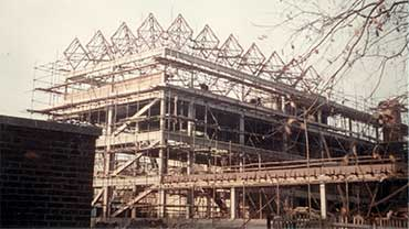 engineering building under construction