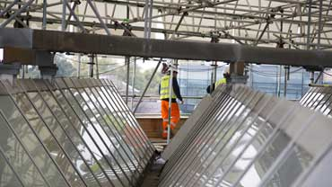 refurbishment of the engineering roof