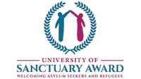 University of sanctuary award, welcoming asylum seekers and refugees