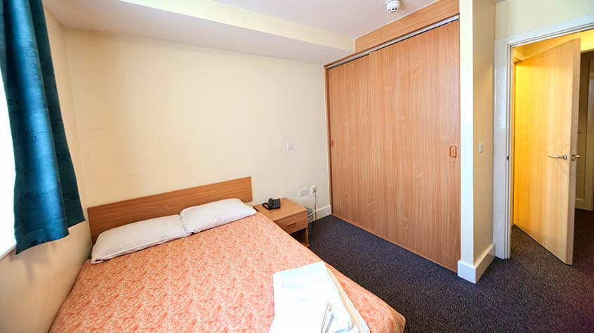 An interior view of John Foster student accommodation