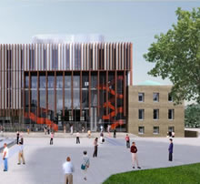 Artist's impression of Percy Gee building redevelopment