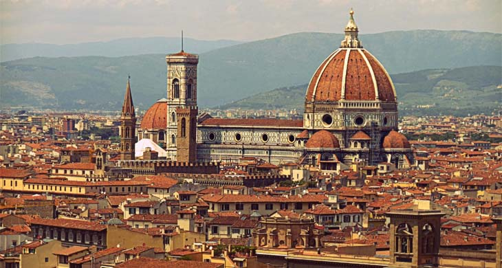 A view of the city of Florence