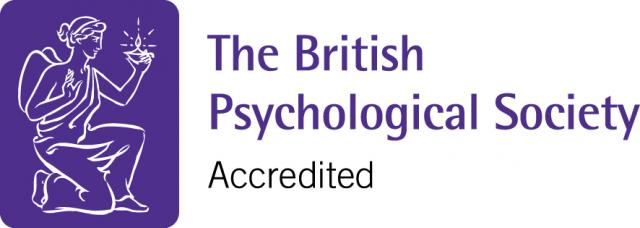 British Psychological Society accreditation logo