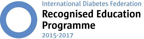 logo for International Diabetes Federation Recognised Education Programme