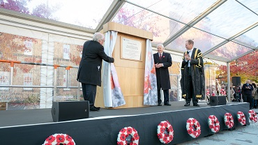 Sir David and Michael Attenborough open Centenary Square