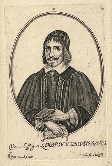 Lambrock Thomas engraving by Thomas Cross