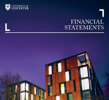 Front page of the Financial Statements 17/18 document