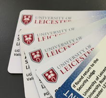 University of Leicester student ID cards