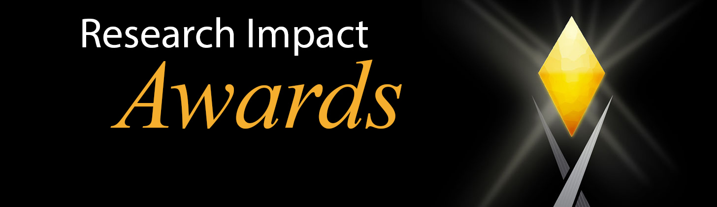 research impact awards banner